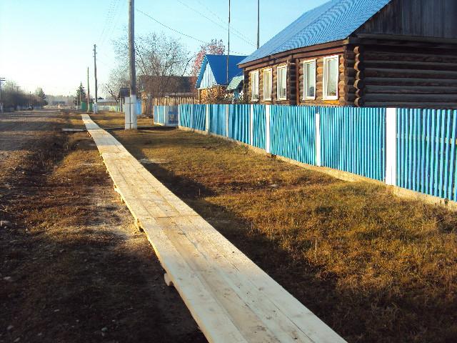 ул. Партизанская тротуар после1